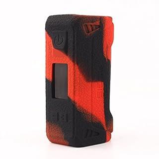 GeekVape Aegis 100w TC Hülle,CEOKS Silikon Schutzhülle für GeekVape Aegis 100w TC mod Box Segeln Skin Ärmel Cover Shield ,Schwarz Rot