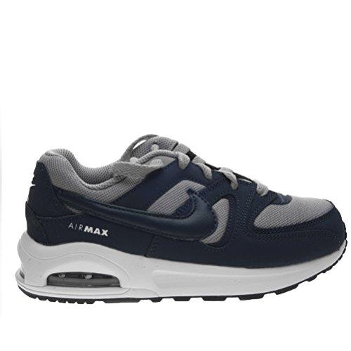 Nike Air Max Command Flex Ps, Sneakers basses garçon Multicolore (Stealth/midnight Navy-white-black)