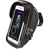 Laxstory Bicycle Mobile Phone Holder Waterproof Bicycle Handlebar Bag Mobile Phone Bicycle Mount MTB Bicycle Bag Other Edge up to 6 Inch Devices