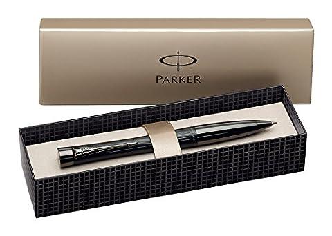 Parker Urban Premium Stylo-bille Pointe Moyenne Attributs Chromés Noir mat