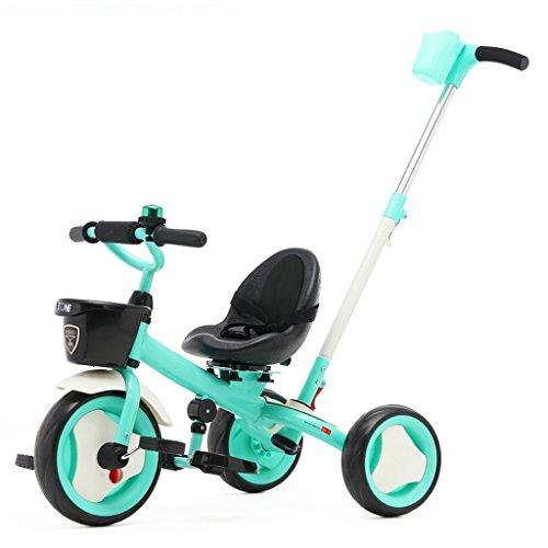 QLL-Des vélos pour enfants Sport en plein air Enfants Tricycle Chariots Chariots pour bébés Bicyclettes pour enfants 3 Roues Sans danger pour les enfants ( Couleur : Bleu )