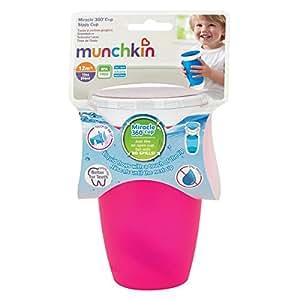munchkin Tasse Petites Gorgées 360° Miracle (Modèle aléatoire) [Puériculture]