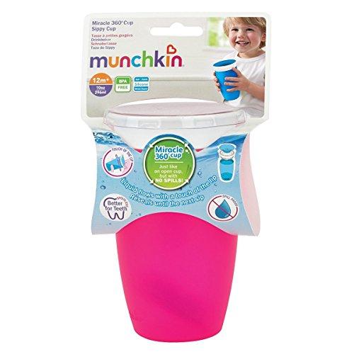 Munchkin Miracle 360ᵒ Trinkbecher 296 ml - Pink