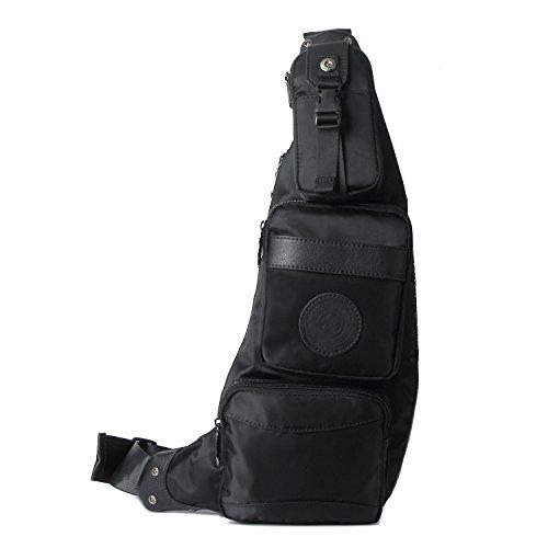 Outreo Umhängetasche Leichtgewicht Tasche Brusttasche Herren Sporttasche Vintage Schultertasche Retro Reisetasche Rucksäcke für Sport