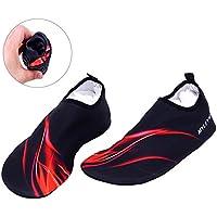 Sasairy Chaussons de Plage Surf Chaussures de Plongée pour Sports Aquatiques Unisex Séchage Rapide