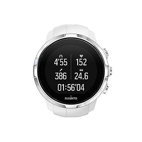 Suunto-Spartan-Sport-HR-Reloj-GPS-para-Atletas-Multideporte-10-h-Batera-Resistente-al-agua-Pantalla-Tctil-en-Color-Blanco-SS022651000