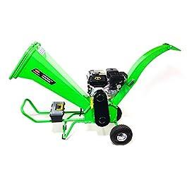 Broyeur de branches et de végétaux, moteur thermique 7cv, rotor avec 2 couteaux de 15cm