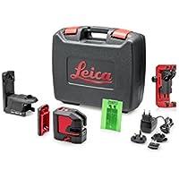 Leica Geosystems Lino l2p5g Leica compacto verde líneas de y láser de punto con batería de ion de litio y soporte magnético innovador