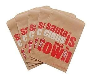 confezione da 10 - Natale Carta Tesoro / Sacchetti Per Feste