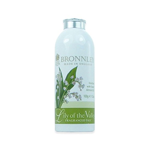 Bronnley Lily of the Valley - Fragranced Talcum Powder 75g -