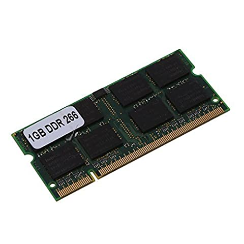 TOOGOO(R) 1GB 1G Speicher RAM Memory PC2100 DDR CL2.5 DIMM 266MHz 200-pin Notebook Laptop