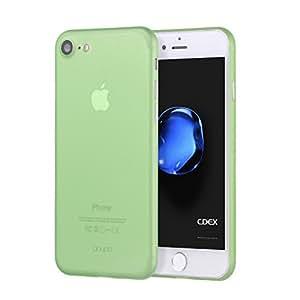 doupi iPhone 8/7 (4,7 Zoll) Hülle, UltraSlim Case Ultra Dünn Fein Matte Oberfläche Handyhülle Cover Bumper Schlanke Schutz Schale Hardcase iPhone 8 (2017)/iPhone 7 Design Schutzhülle, grün