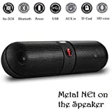 Easypro™ Lenovo Vibe C2 Power Compatible MINI Bluetooth Multimedia Speaker System With FM / Pen Drive / Micro-SD Card Slot Apple IPad Wi-Fi And All Other Smartphones - Portable Pill F Bluetooth Speaker-Color May Be Vary