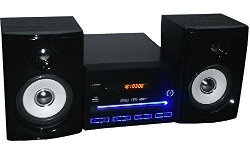 Impianto stereo compatto hifi mini con lettore cd mp usb