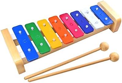 Keepdrum kgs2–Xilófono infantil de música de juguete