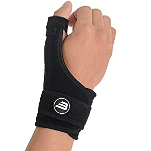 Bionix Thumb Splint and Wrist Support Brace - Best For Chronic RSI & CTS Pain Relief, Arthritis, De Quervain's Tenosynovitis & Carpal Tunnel / Spica Splint, Fits Right and Left Hand