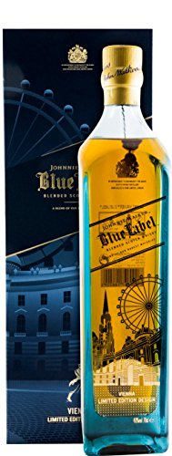 #Johnnie Walker Blue Label Vienna Edition Blended Scotch Whisky (1 x 0.7 l)#