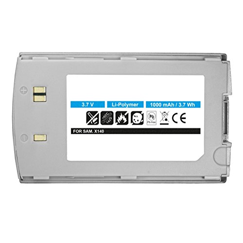 Akku Li-Polymer für Samsung SGH-X140 ersetzt BST4278 silber
