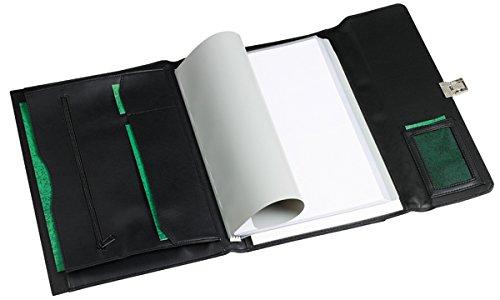 Rillstab Senator A4 Polipiel Negro - Organizador personal (Polipiel, Negro, A4, 60 hojas)