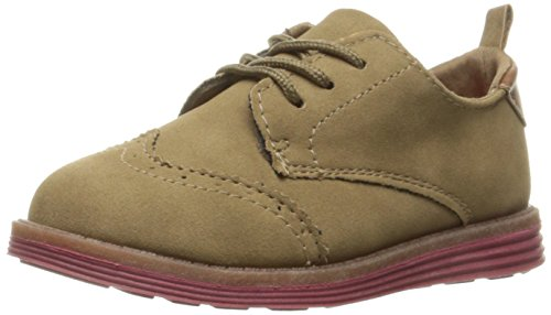 OshKosh B'Gosh Boys' SWIFT3 Oxford, Tan, 12 M US Little Kid