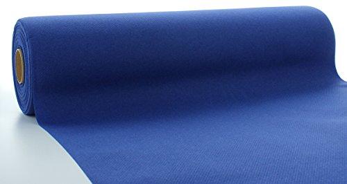 Sovie HORECA Linclass® Airlaid Tischläufer 40 cm x 24 m | Tischdecken-Rolle stoffähnlich | praktische Einmal-Tischdecke für Hochzeit oder Partys | Royal-Blau