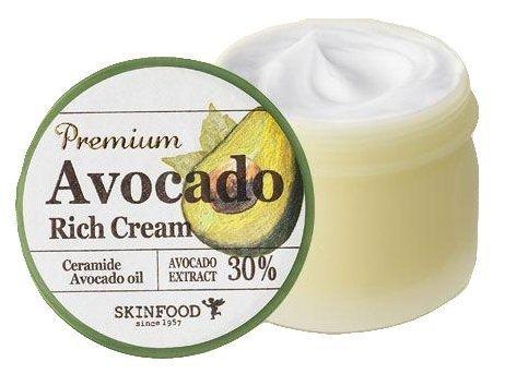 Skin Food - Premium Avocado Rich Creme - Tagescreme - Gesichtspflege Cream mit Avocadoöl und Shea Butter
