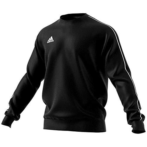 ADIDAS Herren CORE18 Sweatshirt, Black/White, S