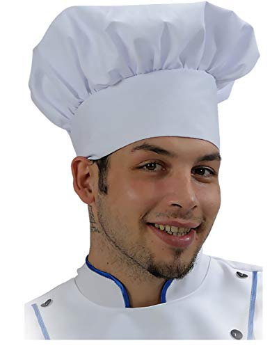 Kostüm Muppet Chefkoch - Kochmütze weiß