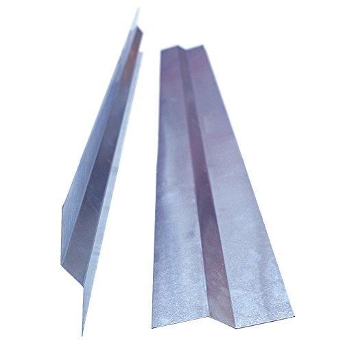 Aluminium Anschlussprofil 40/20/40mm, Länge 2 Meter, Haus und Gartenprofil 16