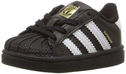 adidas C77154, Jungen Kurzschaft Stiefel, Schwarz - schwarz/weiß/schwarz - Größe: 38 EU