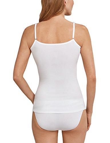 Schiesser Damen Unterhemd Weiß (weiss 100)