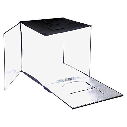 Fotodiox Pro LED Studio-in-a-Box für Tisch Top Fotografie, schwarz, 28x28 (70x70cm) (Box Studio A In)