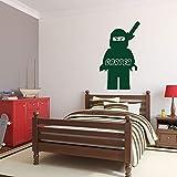 Wandaufkleber Schlafzimmer Personalisierter Name Mit Ninjago Für Kinderzimmer Im Kinderzimmer