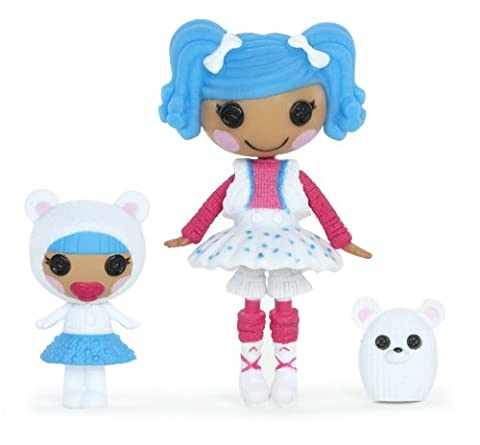 Mini Lalaloopsy Littles – Sisters – Bundles Snuggle Stuff & Mittens Fluff 'n' Stuff (Import Royaume-Uni)