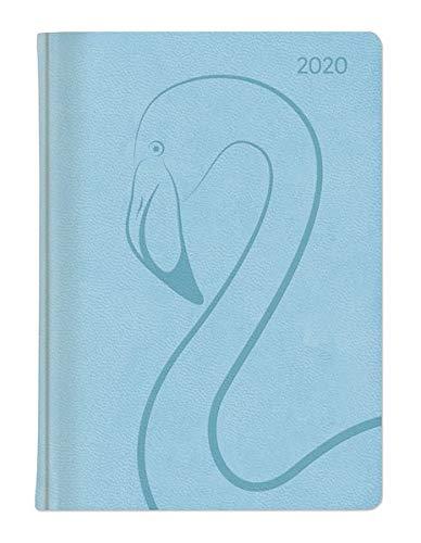 Ladytimer Deluxe Pastel Blue 2020 - Taschenplaner - Taschenkalender A6 - Tucson Einband -...