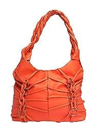 Vintage Stylish Ladies Handbag Orange(bag 173)