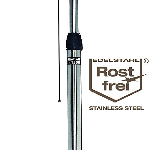 Einhell Design Halogen Heizung IHS 1500 (1500 Watt, Fernbedienung, verstellbar bis 220 cm, LED-Beleuchtung für Außenbereich, Stand- und Wandgerät) - 4