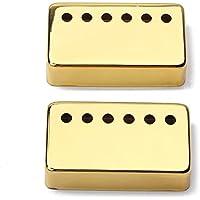 healifty 2unidades 6agujeros Humbucker Pickup metal protectora caso Traje para LP–guitarra eléctrica