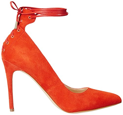 Pompa Nine West Ebba Dress Suede Red orange