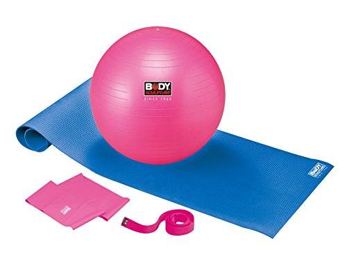 Body Coach 5-in-1-Pilates Set mit Gym-ball Matte Gurt Pumpe und Band, 18334