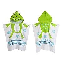 Crazy lin Lovely Animal Pattern Hoodies Capped Cloak Kids Swim Beach Bath Towel