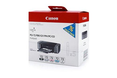 CANON Pack de 5 Cartouche Jet d'encre PGI-72 pixma Pro