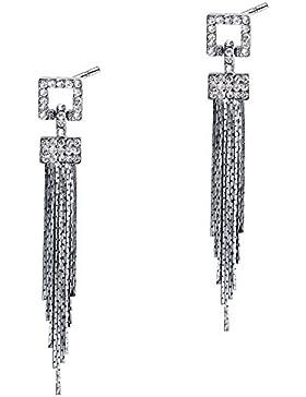BABEYOND Damen Ohrringe Lange Legierung Troddel Dangling Ohrringe Art Deco Modeschmuck Damen Accessoires 2.36
