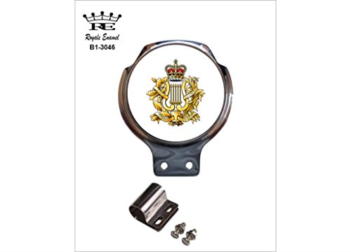Preisvergleich Produktbild Royale Emaille Royale Auto Scooter Bar Badge – Corps of Army Musik Camus B1. 3046