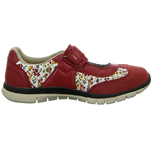 Alyssa GW15167 Damen Slipper Halbschuh sportlicher Boden Casual Rot (Rot)
