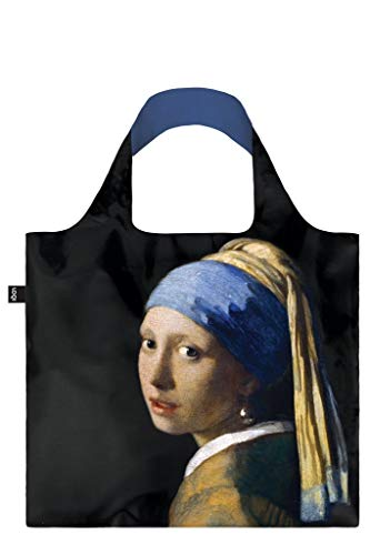 LOQI MUSEUM VERMEER Girl with a Pearl Earring, c.1665 Bag - Einkaufstasche