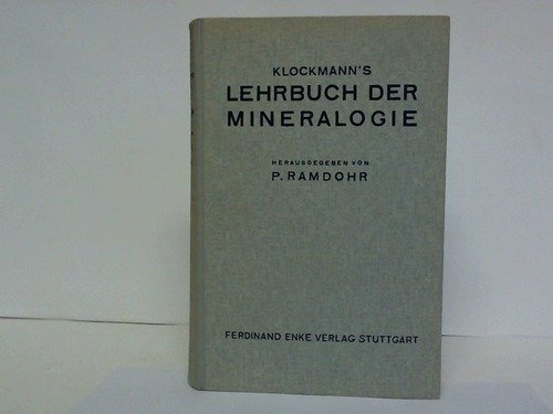 Klockmann's Lehrbuch der Mineralogie