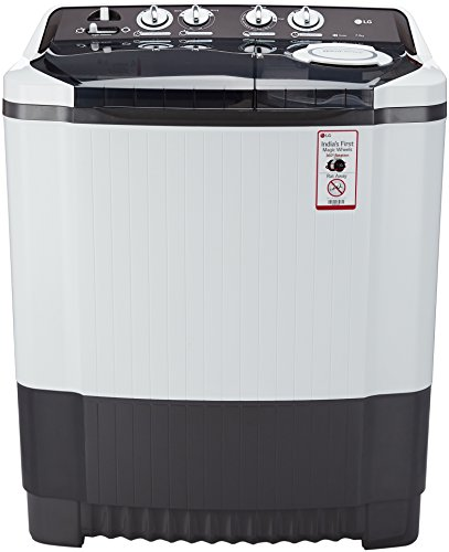 LG 7.5 kg Semi-Automatic Top Loading Washing Machine (P8539R3SM, Dark Grey)