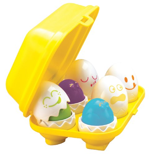 Toomies Hide & Squeak Eggs Preschool Toy