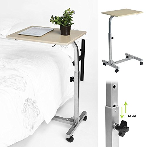 Aingoo laptop PC Stand Lapdesks Portable Height Adjustable Sofa Bed Table